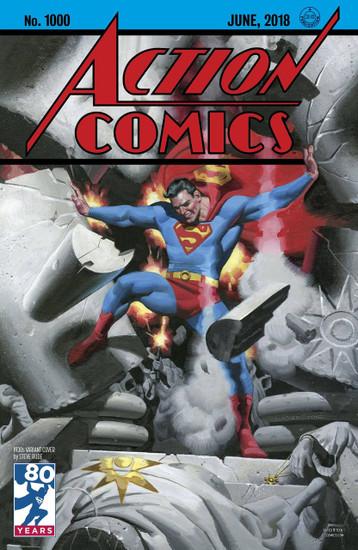 DC Action Comics #1000 Comic Book [1930s Variant]