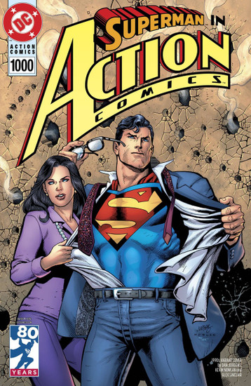 DC Action Comics #1000 Comic Book [1990s Variant]