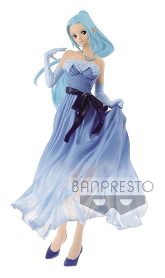 One Piece Lady Edge: Wedding Princess Nefeltari Viv 9.1-Inch Collectible PVC Figure [Blue Dress]