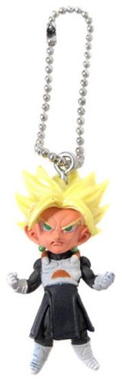 Dragon Ball Super UDM Burst 29 Super Saiyan Trunks 1.5-Inch Keychain Clip-On [Loose]