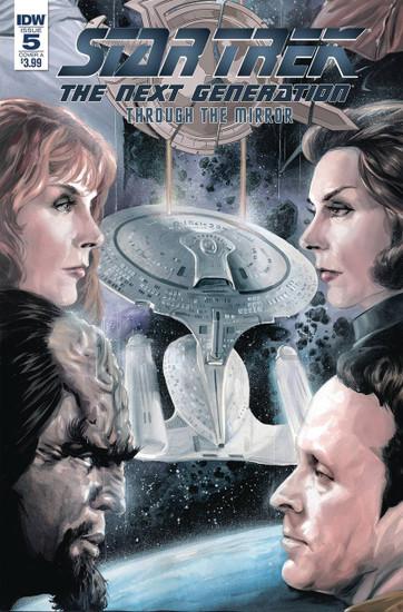 IDW Star Trek The Next Generation #5 Through the Mirror Comic Book [Cover A]