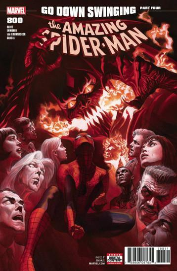 Marvel Comics Amazing Spider-Man #800 Comic Book