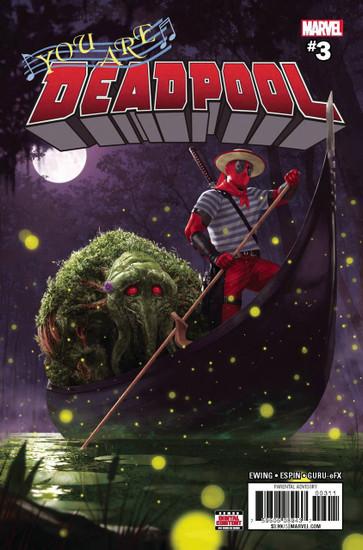 Marvel Comics You Are Deadpool #3 Comic Book