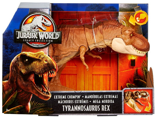 Jurassic World Fallen Kingdom Extreme Chompin' Tyrannosaurus Rex Exclusive Action Figure [Legacy Collection]