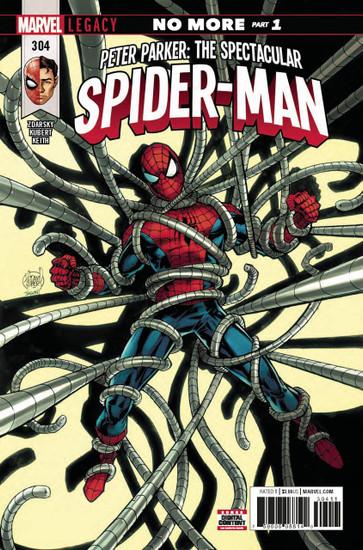 Marvel Comics Peter Parker Spectacular Spider-Man #304 Comic Book
