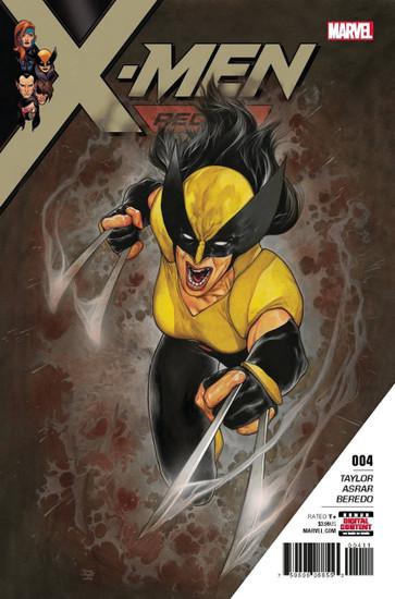 Marvel Comics X-Men Red #4 Comic Book