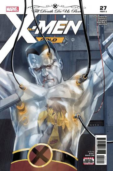 Marvel Comics X-Men Gold #27 Comic Book