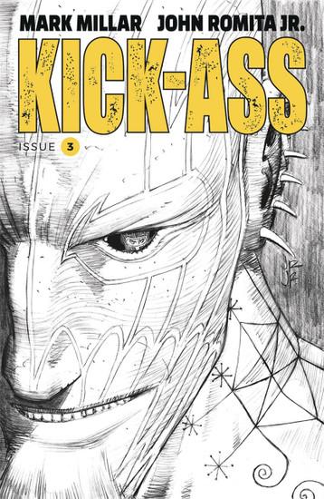 Image Comics Kick-Ass #3 Comic Book [Black & White Variant]
