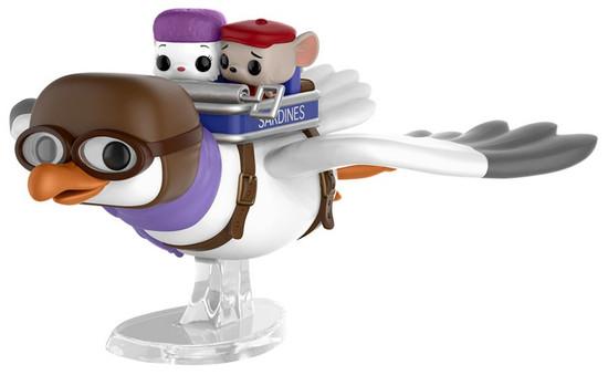 Funko The Rescuers POP! Disney Orville with Miss Bianca & Bernard Exclusive Vinyl Figure [Adventures]
