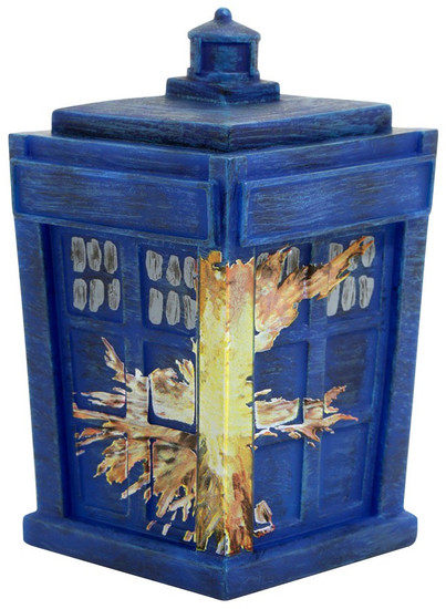 "Doctor Who Titans ""Pandorica Opens"" Tardis Exclusive 6.5-Inch Vinyl Figure"