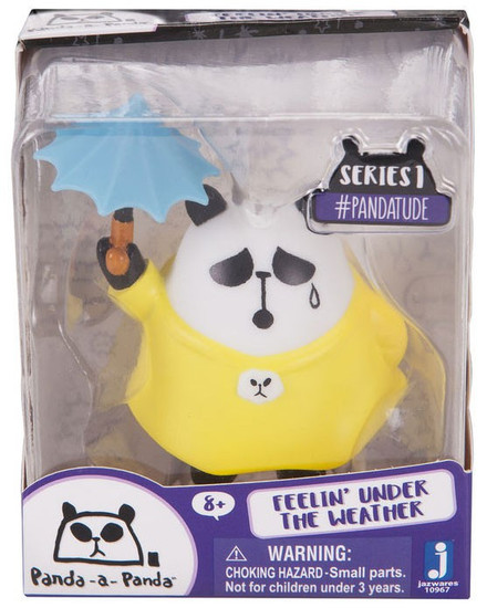 Panda-a-Panda Series 1 #Pandatude Feelin' Under the Weather 2-Inch Vinyl Figure