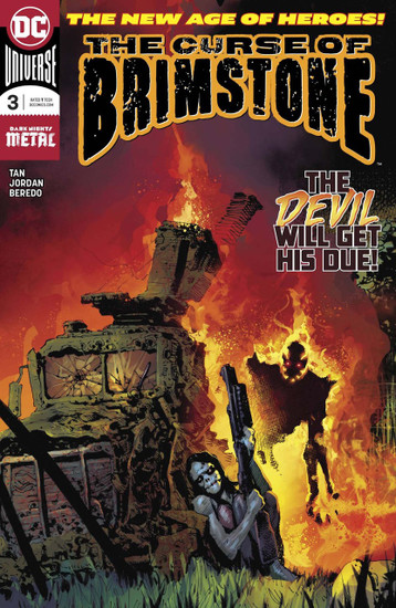DC Curse of the Brimstone #3 Comic Book