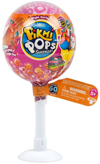 Pikmi Pops Surprise! Series 3 MEDIUM Mystery Pack [2 Scented Plush & 4 Surprises]