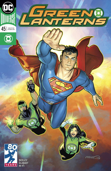 DC Green Lanterns #45 Comic Book [Variant]