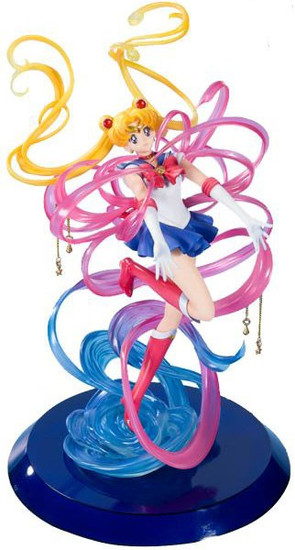 Figuarts Zero Chouette Sailor Moon 9.8-Inch Statue [Moon Crystal Power, Make Up]