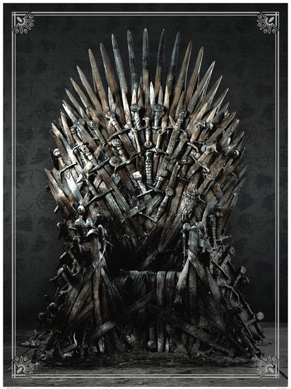Game of Thrones Iron Throne 27-Inch Puzzle