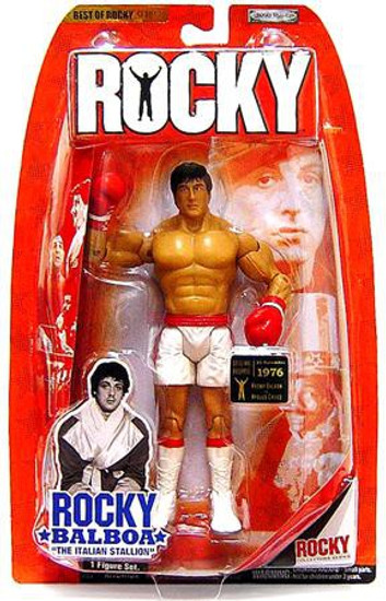 Best of Rocky Series 1 Rocky Balboa Action Figure [Rocky vs. Creed, Damaged Package]
