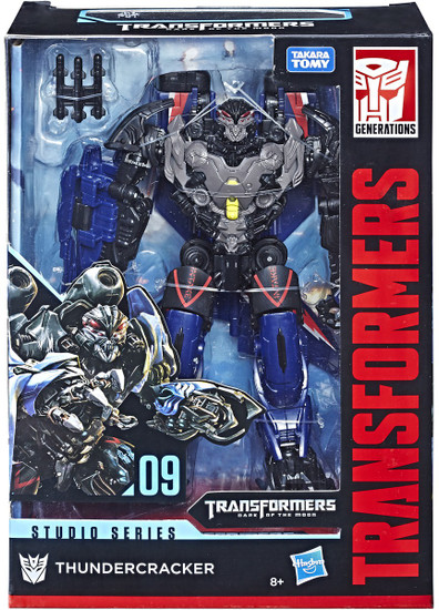 Transformers Generations Studio Series Thundercracker Exclusive Voyager Action Figure #09