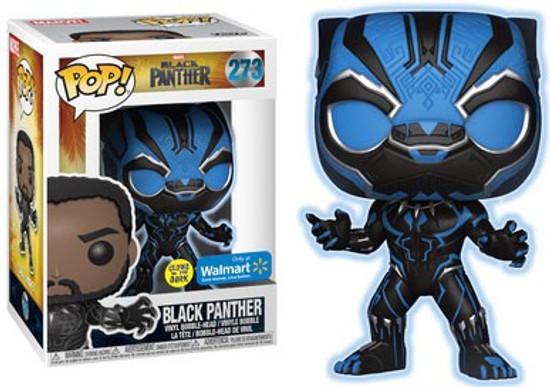 Funko Marvel Universe POP! Marvel Black Panther Exclusive Vinyl Figure #273 [Glow in the Dark, Damaged Package]