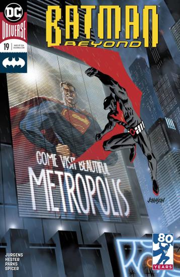 DC Batman Beyond #19 Comic Book [Variant]