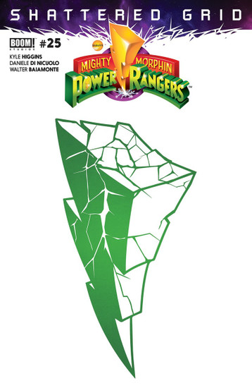 Boom Studios Mighty Morphin Power Rangers #25 Shattered Grid Comic Book [2nd Printing]