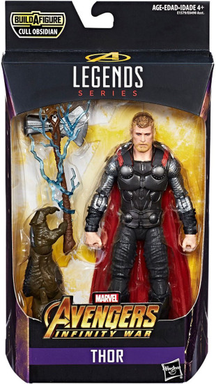 Avengers Infinity War Marvel Legends Cull Obsidian Series Thor Action Figure