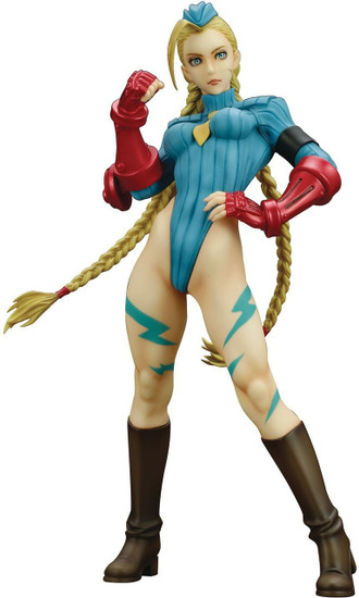 Street Fighter Bishoujo Cammy White Collectible PVC Statue [Alpha Costume]