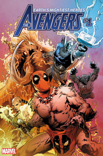 Marvel Comics Avengers #1 Comic Book [Land Party Variant]
