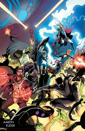 Marvel Comics Avengers #1 Comic Book [Kuder Young Guns Variant]
