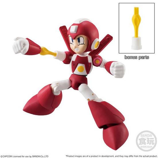 Mega Man Legends Shokugan 66 Action Series 2 Super Armor Mega Man 2.6-Inch Trading Figure