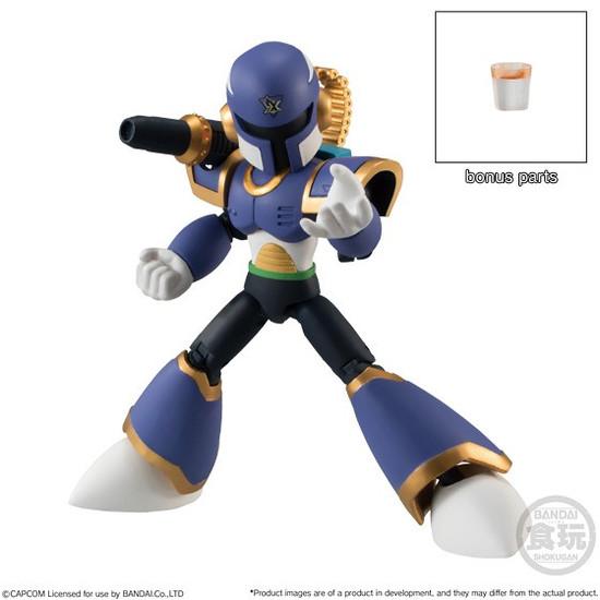 Mega Man Legends Shokugan 66 Action Series 2 Vile 2.6-Inch Trading Figure [Mega Man X]