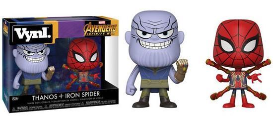 Funko Marvel Avengers Infinity War Vynl. Thanos & Iron Spider Vinyl Figure 2-Pack