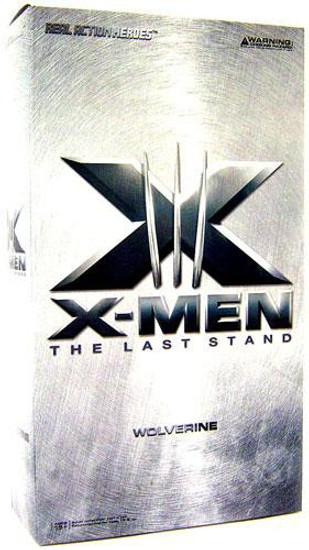 X-Men 3: The Last Stand Real Action Heroes Wolverine 12-Inch Collectible Figure [Damaged Package]