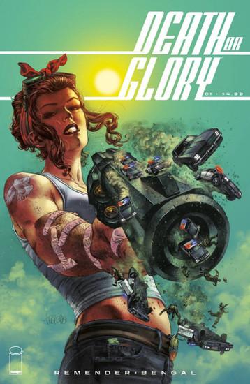 Image Comics Death or Glory #1 Comic Book [Cover B Fegredo]