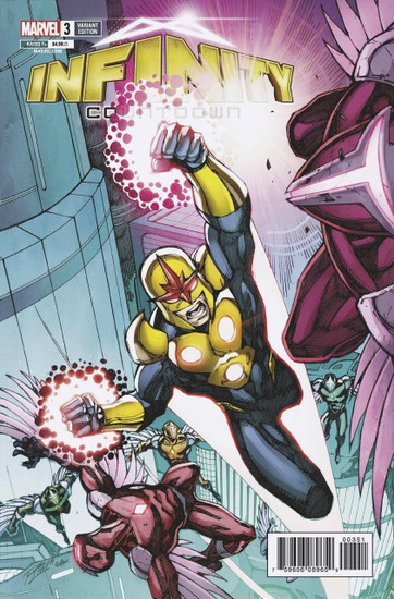 Marvel Comics Infinity Countdown #3 Comic Book [Lim Variant]