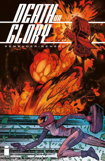 Image Comics Death or Glory #1 Comic Book [Cover C Harren]