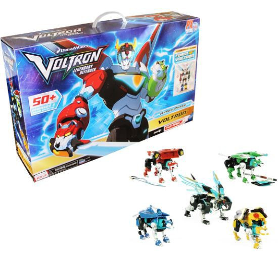 Voltron Legendary Defender Hyper-Phase Voltron Exclusive 5 Piece Action Figure Gift Set