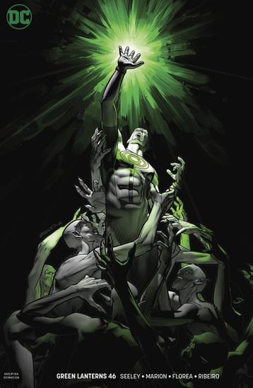 DC Green Lanterns #46 Comic Book [Variant]