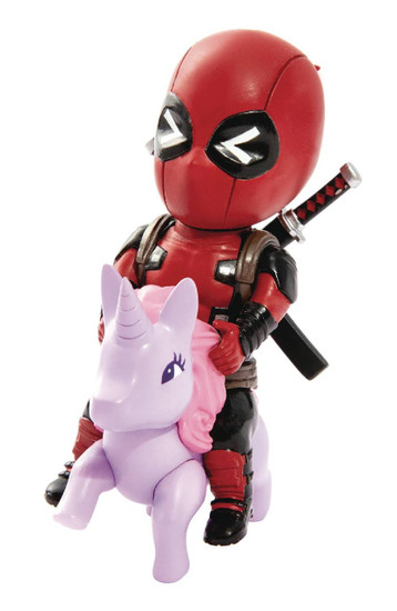 Marvel Deadpool Action Figure MEA-004 [Pony, Red & Black Costume]