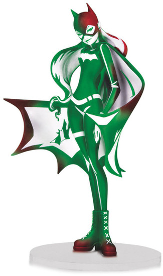 DC Artist Alley Batgirl 6.75-Inch PVC Collector Statue [Sho Murase, Holiday Variant]