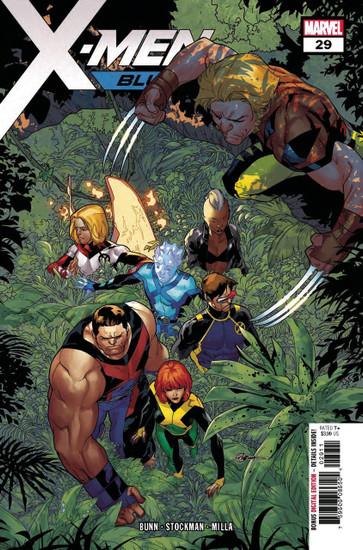 Marvel Comics X-Men Blue #29 Comic Book
