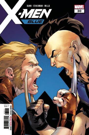 Marvel Comics X-Men Blue #30 Comic Book