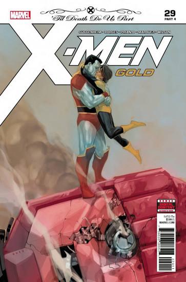 Marvel Comics X-Men Gold #29 Comic Book