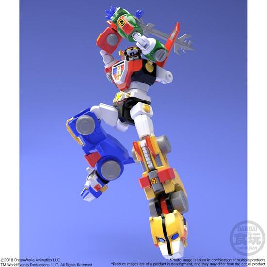 Bandai Super Minipla Defender of Universe Voltron Golion Figure Set Japanese Ver