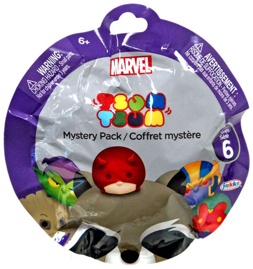 Disney Marvel Tsum Tsum Series 6 Mystery Stack Pack