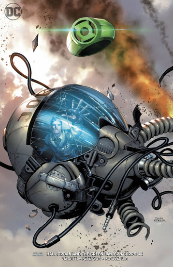 DC Hal Jordan and The Green Lantern Corps #44 Comic Book [Variant]