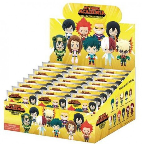 3D Figural Keyring My Hero Academia Series 1 Mystery Box [24 Packs]