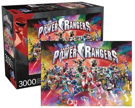 Power Rangers Puzzle [3,000 Pieces]