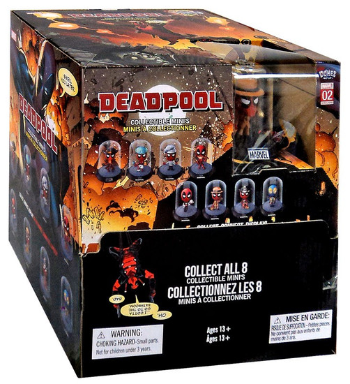 Marvel Domez Series 4 Deadpool Mystery Box