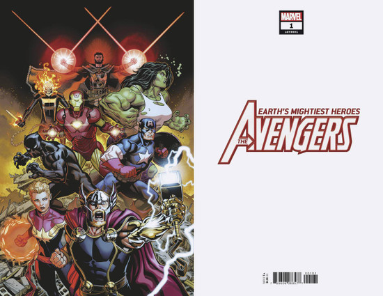 Marvel Comics Avengers #1 Comic Book [McGuiness Virgin Cover]